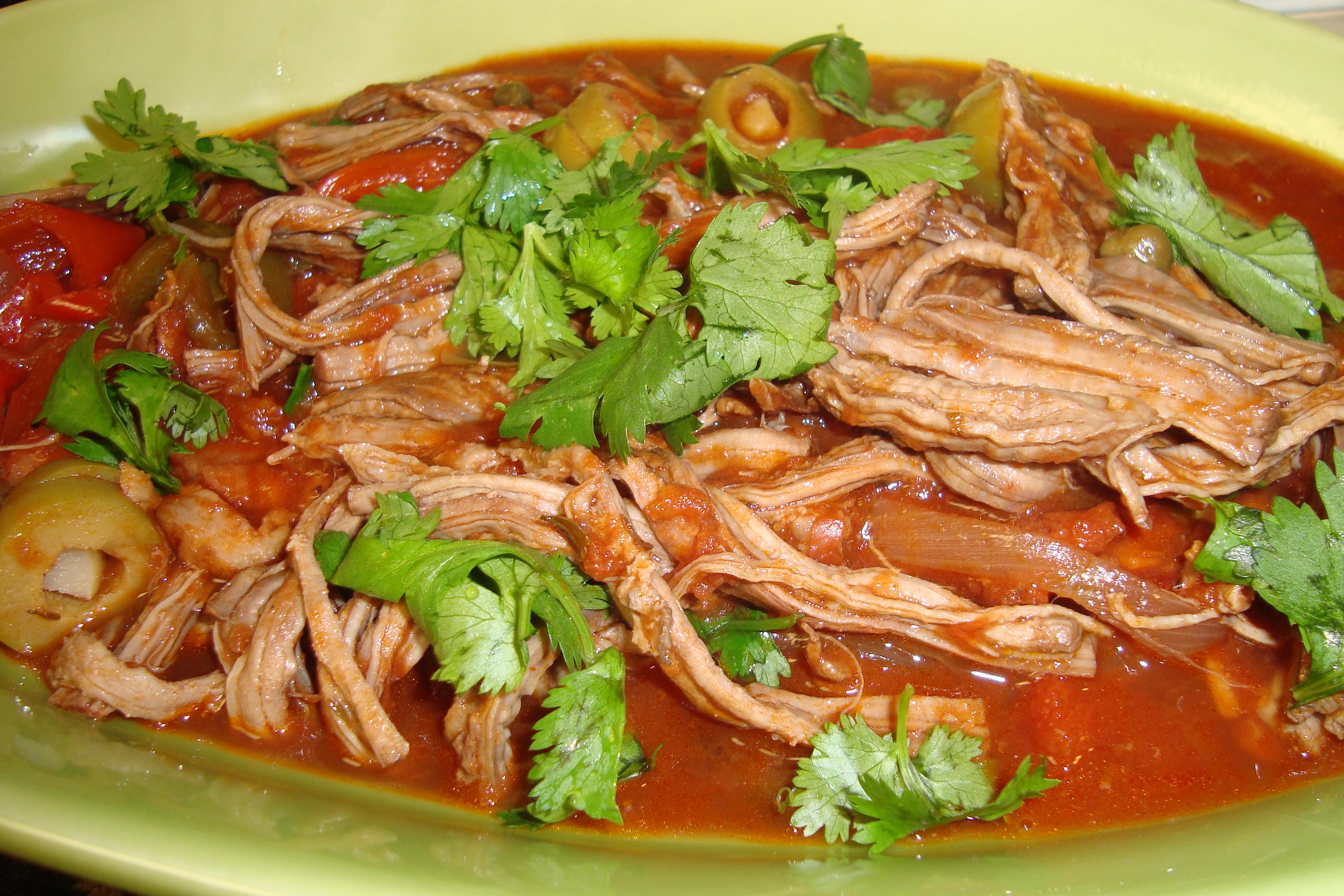 Chicken Ropa Vieja Recipes — Dishmaps